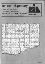 Keya Paha County Index Map 002, Boyd and Keya Paha Counties 1990